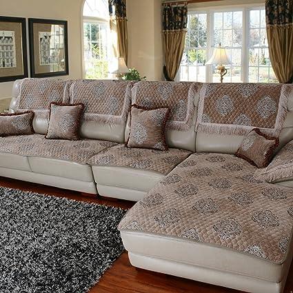 Marvelous Amazon Com Gdjvxcfv European Fabric Sofa Towel Thick Machost Co Dining Chair Design Ideas Machostcouk