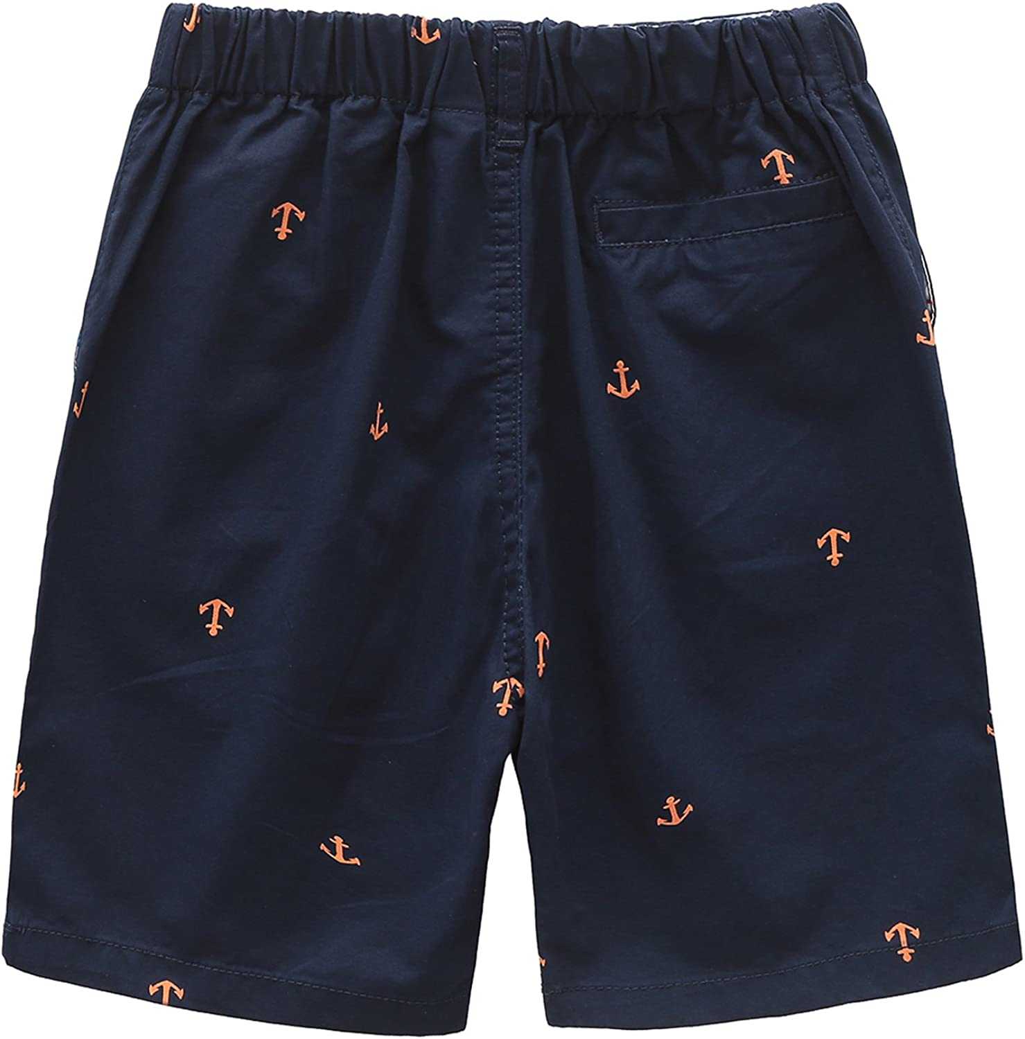 Grandwish Boys Printed Cargo Shorts Thin Style 3-8 Years