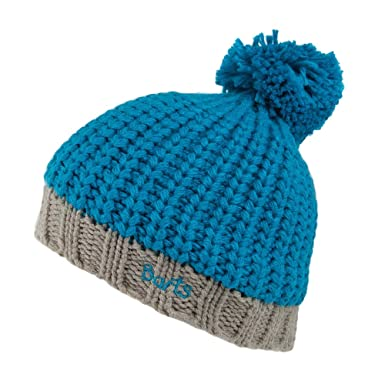 Barts Kids Jordan Bobble Hat - Blue Blue 53  Amazon.co.uk  Clothing c0cad8409f1