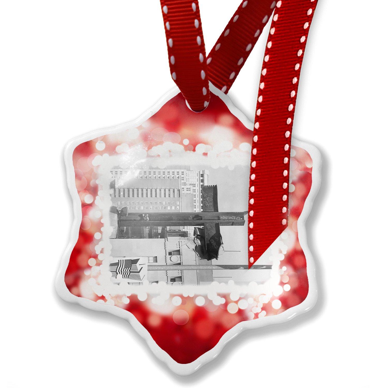 Amazon.com: Christmas Ornament 9/11 WTC Ground Zero, New York, red ...
