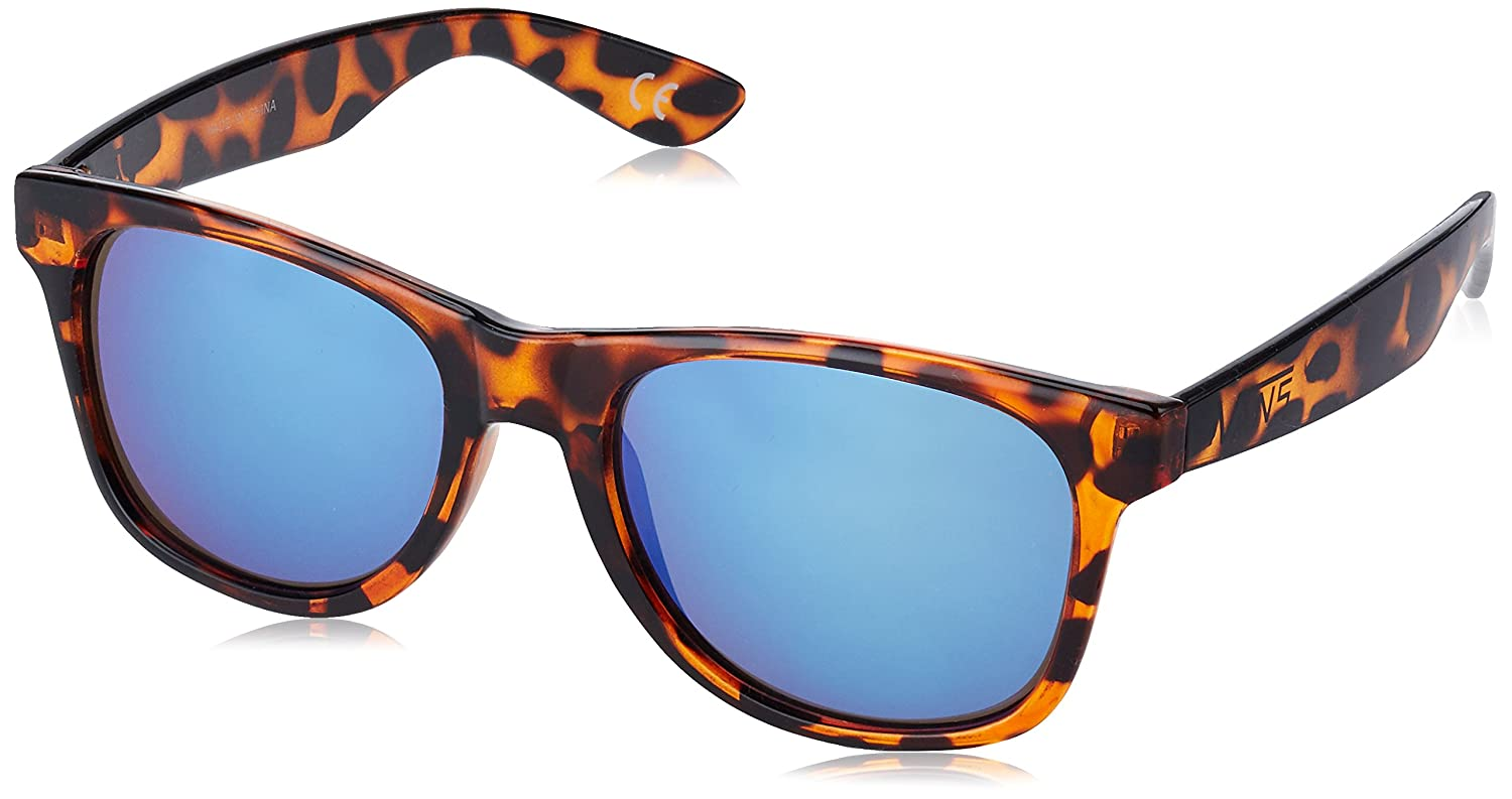 Vans Spicoli 4 Shades, Gafas de Sol para Hombre, Marrón (Translucent Honeytortoise-Royal Blue Mirror)