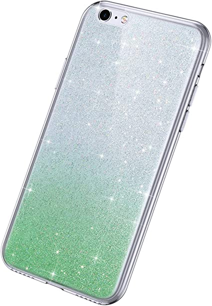 Rann.Bao Compatible avec Coque iPhone 6,Coque iPhone 6S Glitter ...