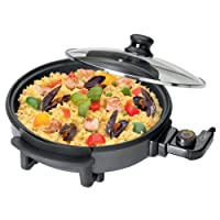 Unibos Multi-Function Electric Cooker Pan with Lid 1500 W 30 cm New