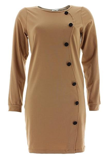 Kling - Vestido - para mujer marrón X-Small