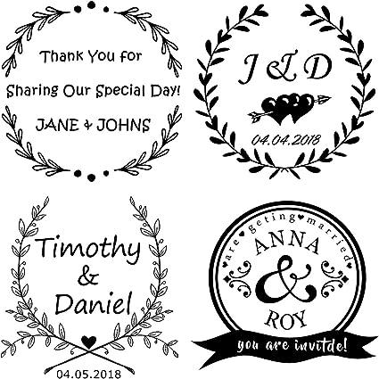 Timbro matrimonio personalizzato,Personalizzato timbro uso in matrimonio inviti Save the date RSVP