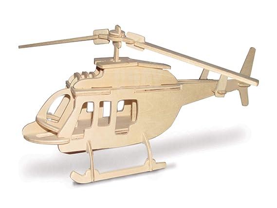 Bell 206 QUAY de artesan/ía en madera Kit de construcci/ón FSC