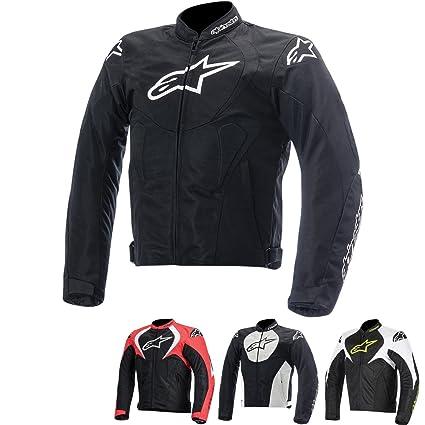 Alpinestars T-Jaws Air Mens Street Motorcycle Jackets - Black/White / Large