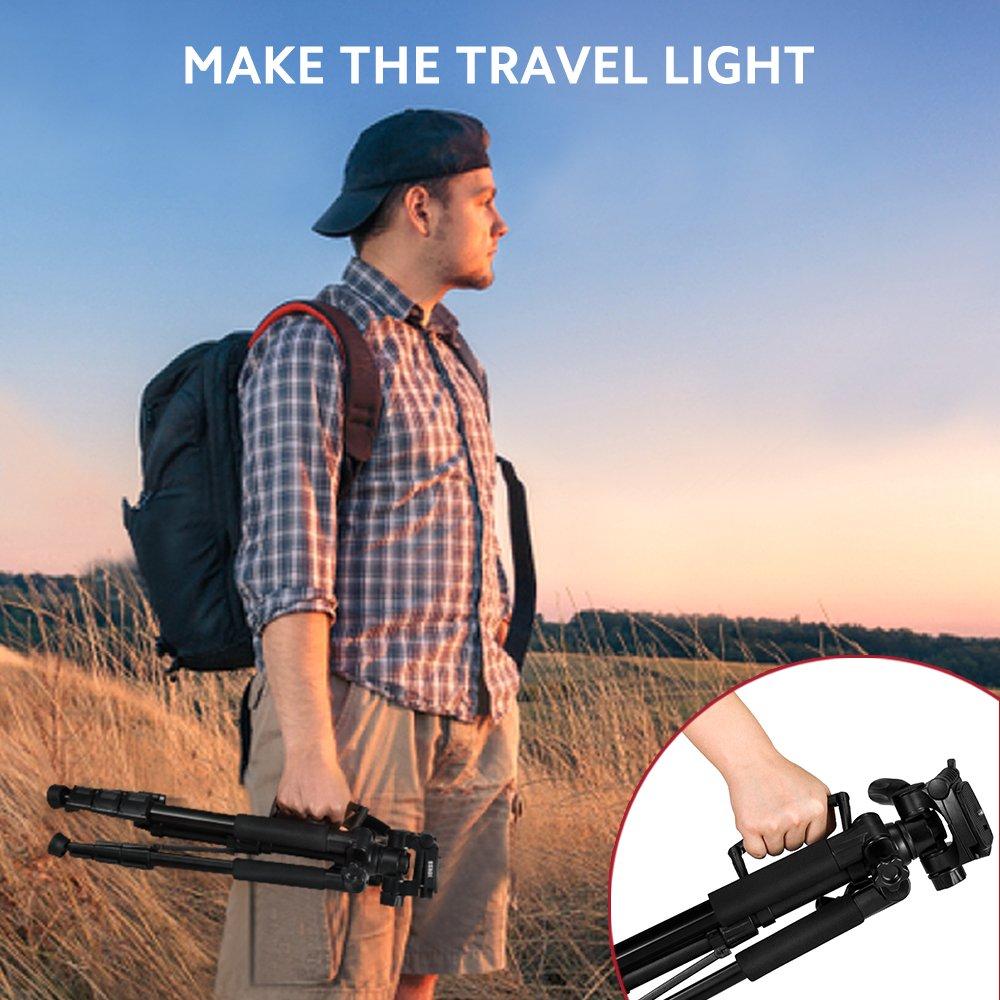 50 Tripod D300 72 Monopod Pro Travelers Bundle For: Nikon Df Vertical Grip D1X D2Xs DL18-50 D2X D2H D200 D3 D300S DL24-500 DL24-85: Pro Backpack D1H D2Hs