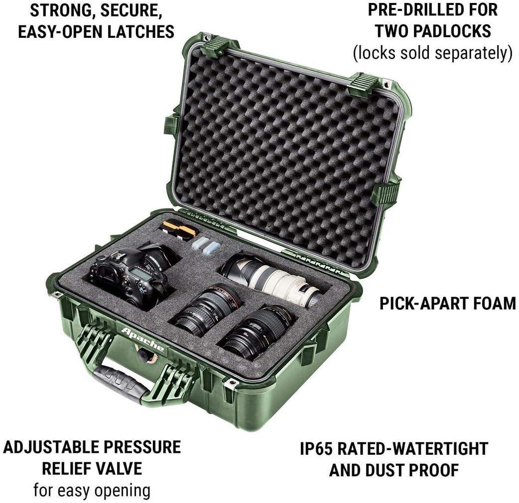 X-Large Apache 4800 Weatherproof Protective Case Orange