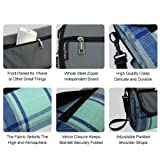 "Extra Large Picnic Blanket, 87""X 67""Outdoor Handy"