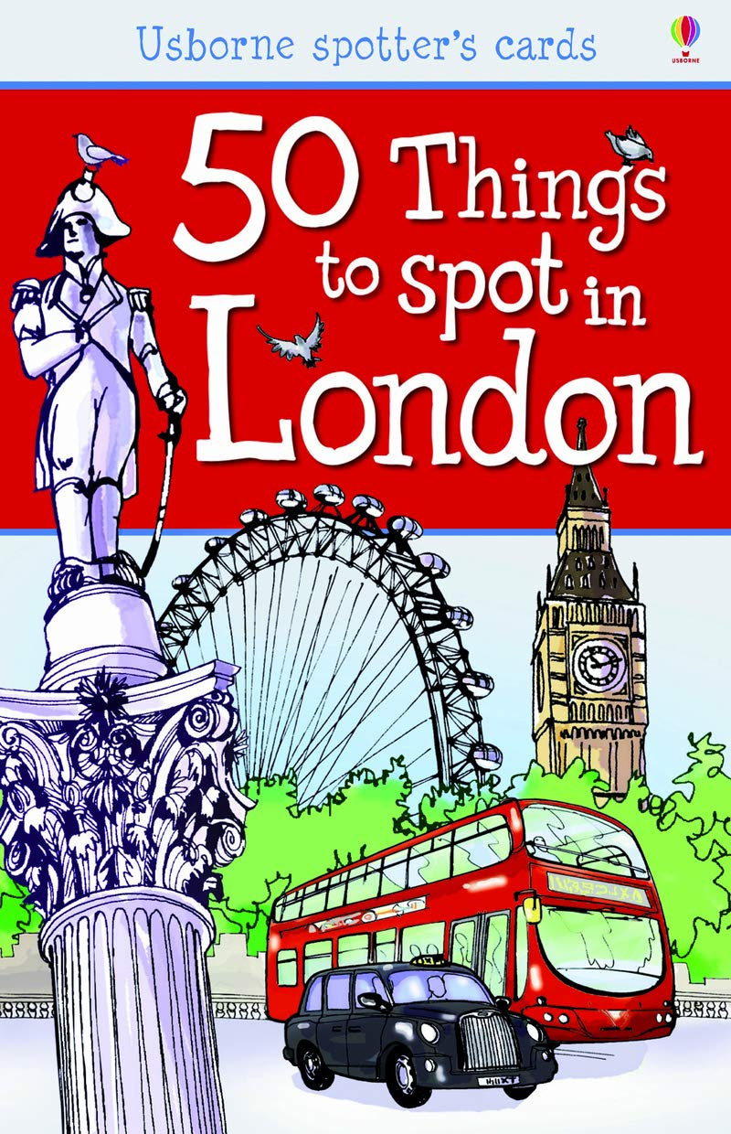 50 Things To Spot In London. Activity Cards  Spotters Activity Cards