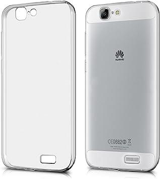 kwmobile Funda Compatible con Huawei Ascend G7 - Carcasa de TPU ...