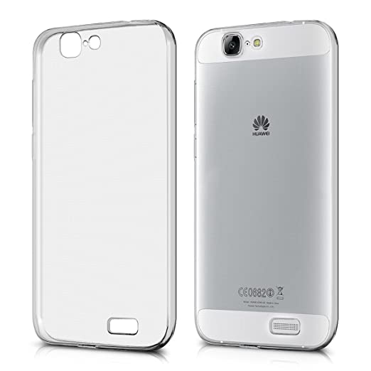 122 opinioni per kwmobile Cover per Huawei Ascend G7- Custodia in silicone TPU- Back case