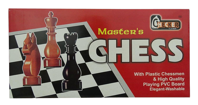 Kinder Master`S Schach Mit Plastik Schachfiguren & Pvc Brettspiele Set - 15 X 15 Zoll