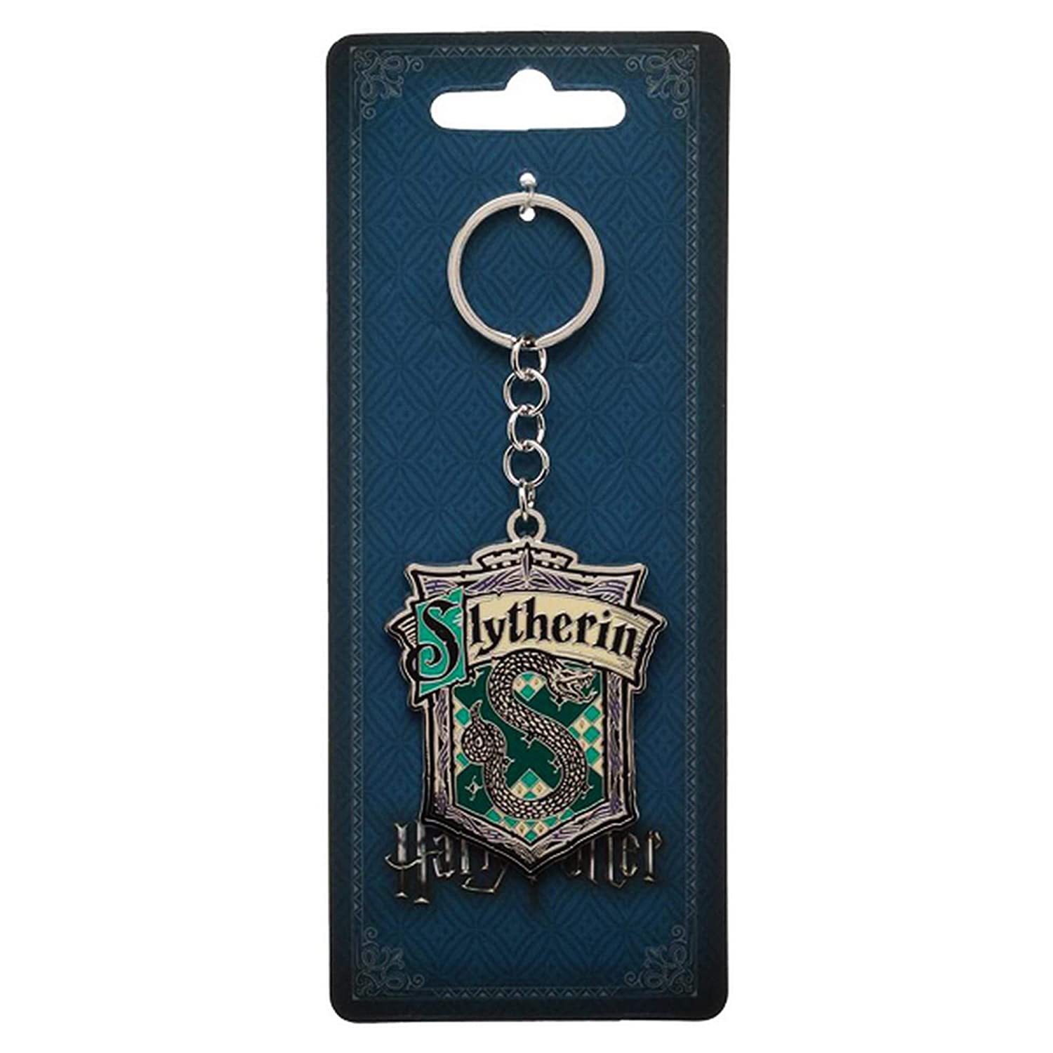 Harry Potter House Metal Keychain Bioworld