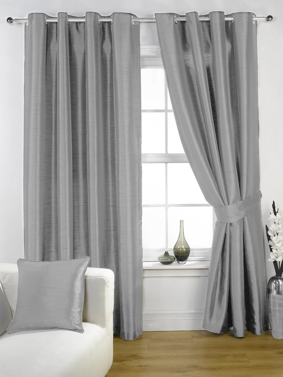 curtains by white inch pinch stylemaster com pleated drapes amazon splendor dp home kitchen
