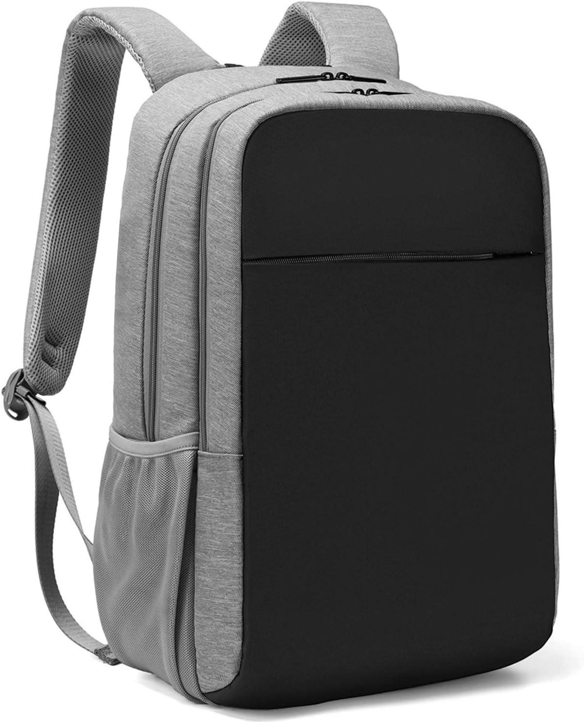 Oscaurt Travel Laptop Backpack, Business High School College Bookbag,Slim Daypack for Women & Men Fit 15.6 Inches Laptop