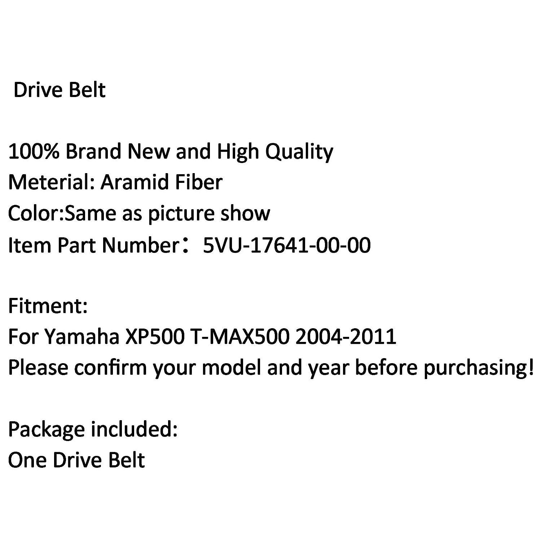 Artudatech Cinghia di trasmissione per moto Yamaha XP500 T-MAX 500 2004-2011