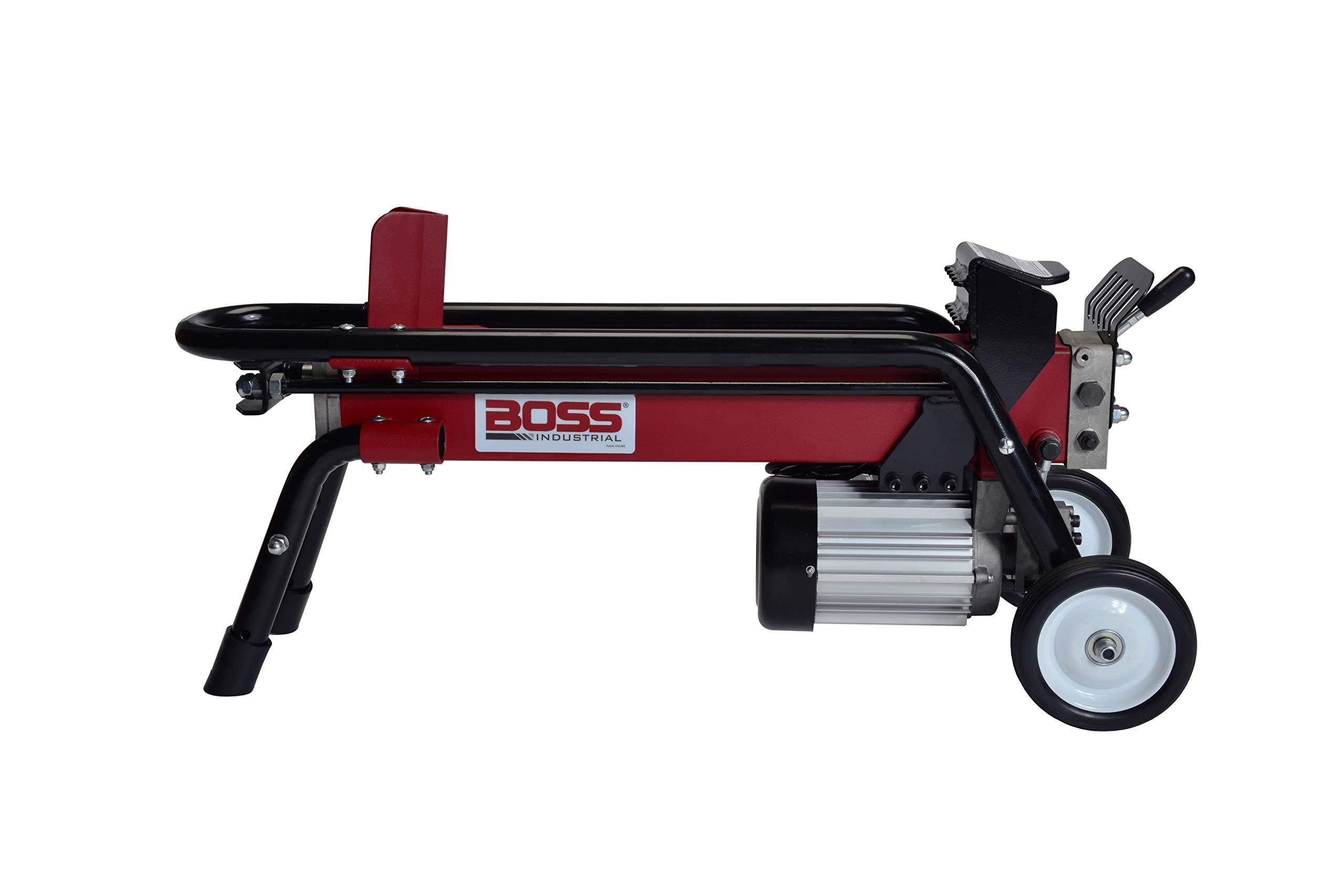 Boss Industrial ES7T20 Electric Log Splitter, 7-Ton by Boss Industrial
