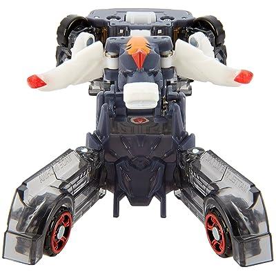 Mecard Stronghorn Deluxe Mecardimal Figure, Black: Toys & Games