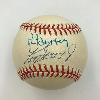 98f2a7ad23 Ken Griffey Jr. & Ken Griffey Sr. Signed American League Baseball ...