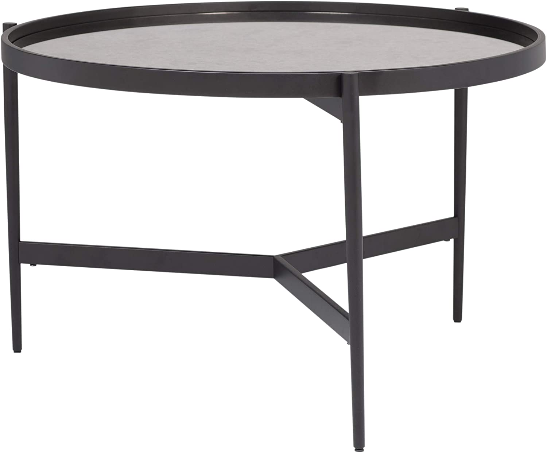 - Amazon.com: Studio Designs Home Black/Antiqued Mirror Estrade 36