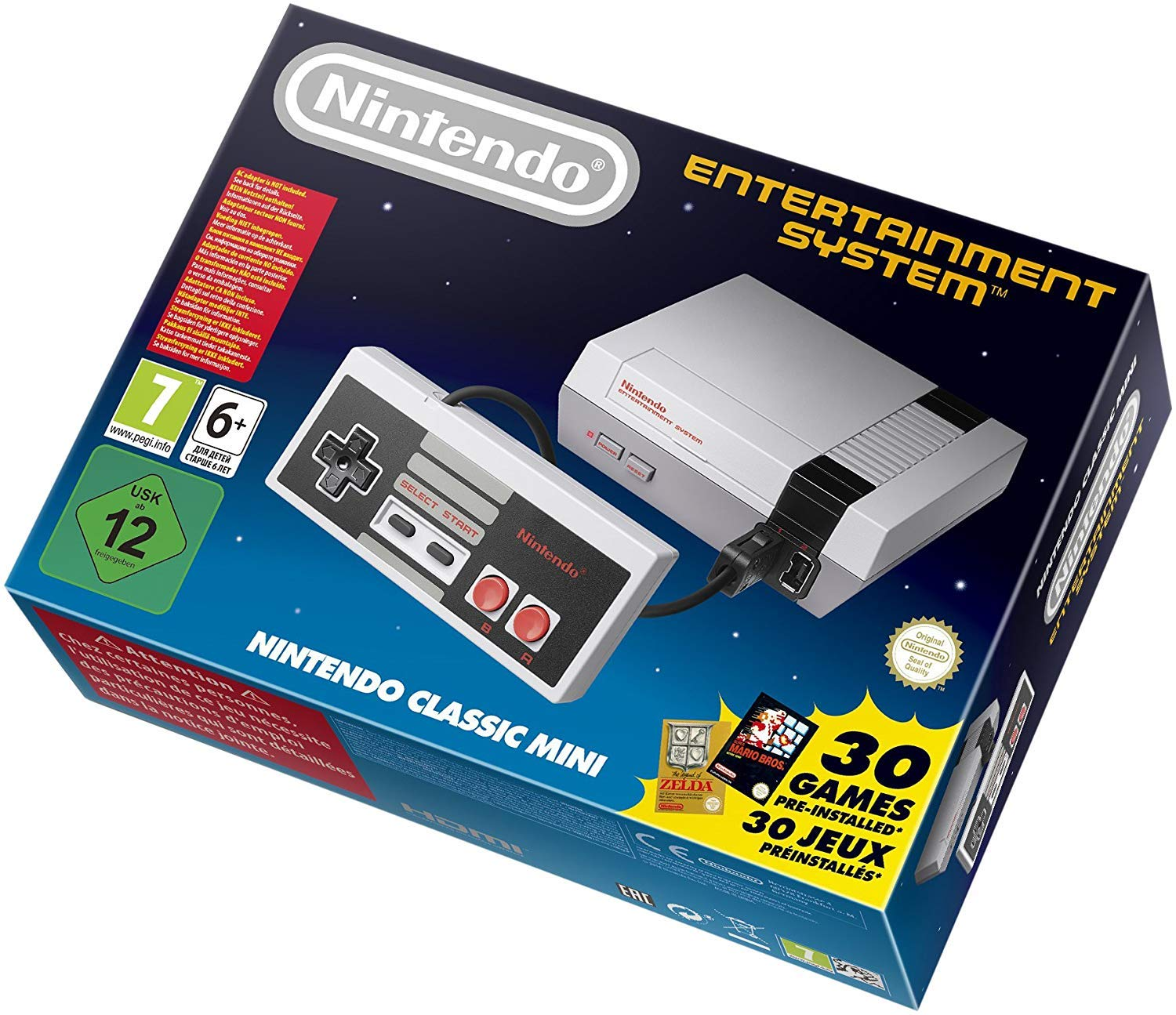 Nintendo Entertainment System NES Classic Edition-