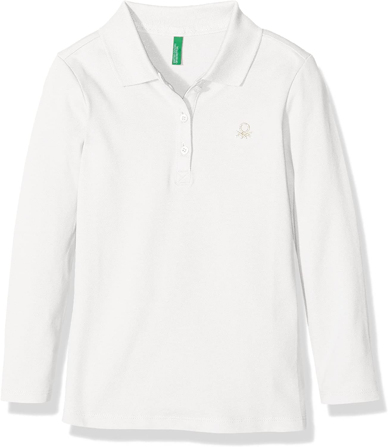 United Colors of Benetton 3BG8C3047 Polo, Blanco (White), 12-18 ...