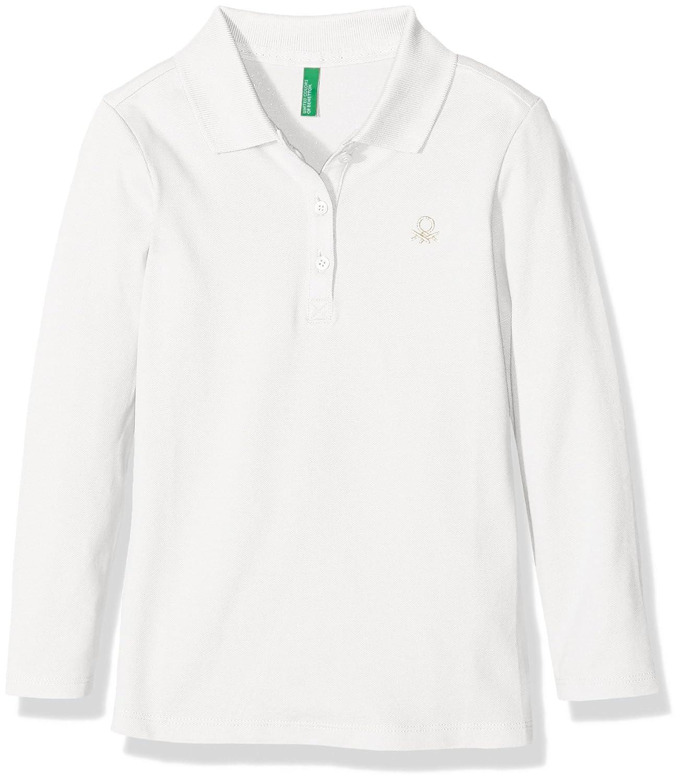 United Colors of Benetton 3BG8C3047 Polo, Blanco (White), 12-18 ...