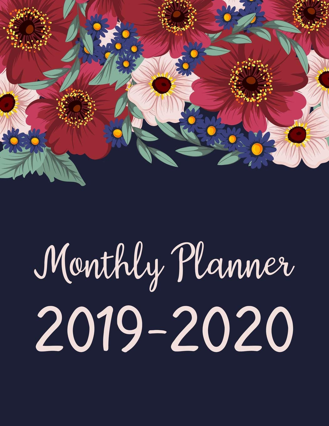Really Cool Designed October-December 2020 Calendars Monthly Planner 2019 2020: January 2019   December 2020 Monthly