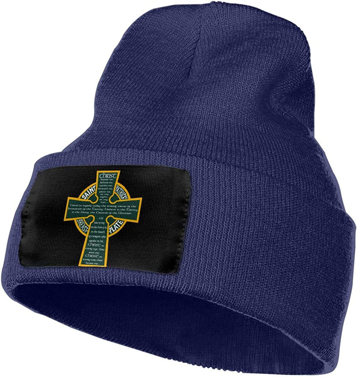 St Patricks Breastplate Or Wh Unisex Fashion Knitted Hat Luxury Hip-Hop Cap