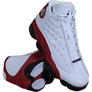 fcab1972ab33dd Air Jordan Retro 13 OG Mid Grade School 414574-122 (White True Red