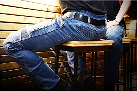 Trilobite Parado Dupont Kevlar Jeans Blau Größe Inch 42 Sport Freizeit