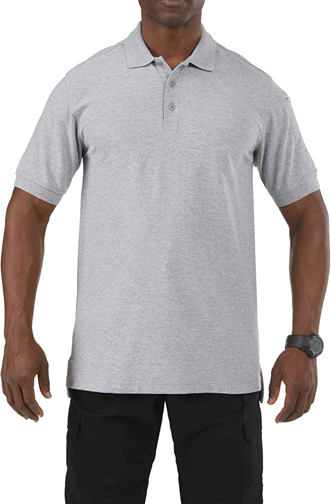 Carry On Mens Short Sleeve Polo Shirt Classic-Fit Blouse T-Shirt