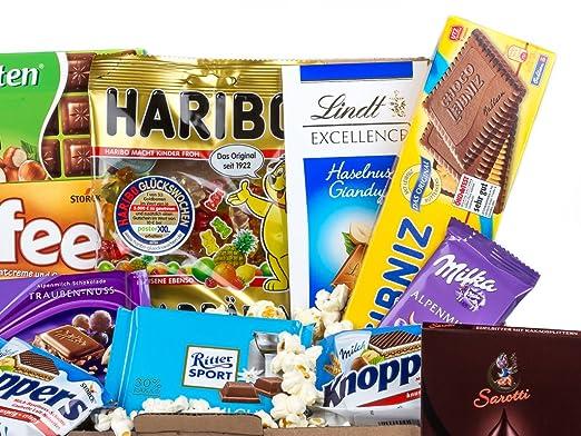 Caja de dulces y chocolates alemanes - Surtido n.º 1: Amazon.es: Alimentación y bebidas