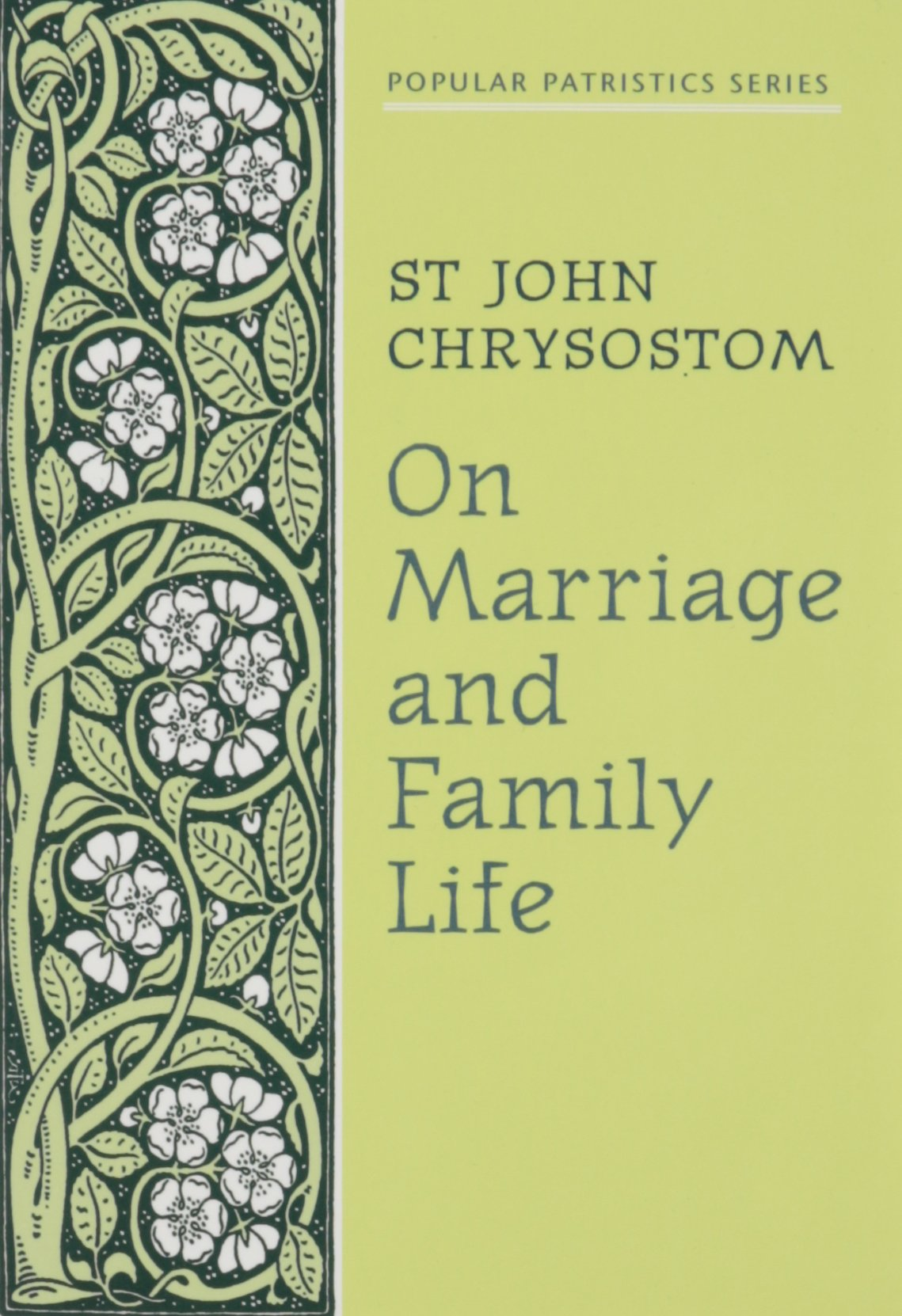 On Marriage /& Family Life