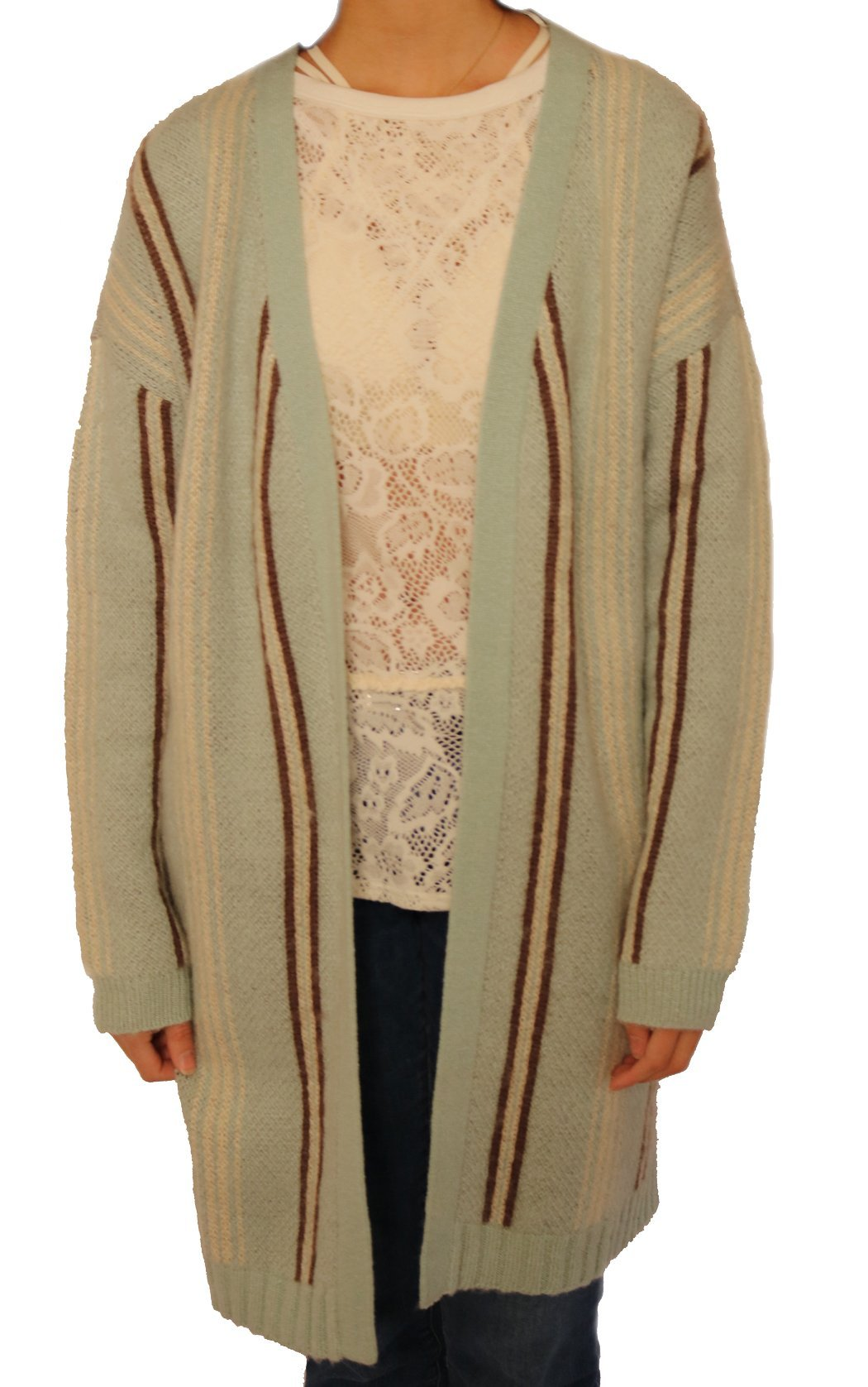 Aratta Winter Frost Cardigan - Turquoise by