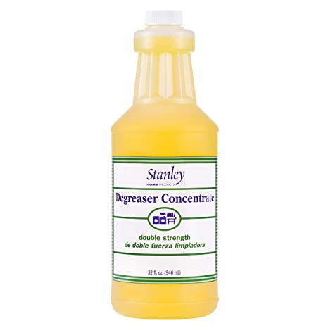 Stanley Home Products Degreaser Concentrate - Removes Stubborn Grease &  Grime - Multipurpose Cleaner for Home & Commercial Use (1 Pack)