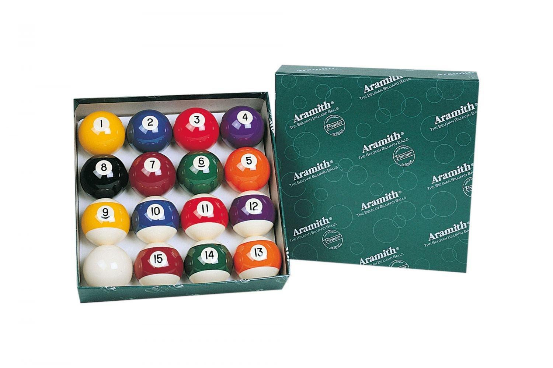 Aramith Pool-Kugelsatz Premium 57,2 mm