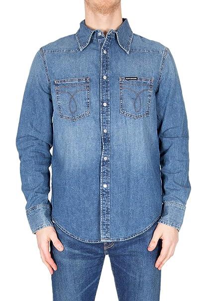 Calvin Klein Camicia Uomo Jeans J30J310287 PrimaveraEstate