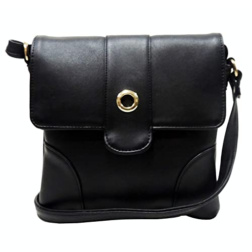 Madame Exclusive Women s Sling Bag (Black)  Amazon.in  Shoes   Handbags 4725aac029