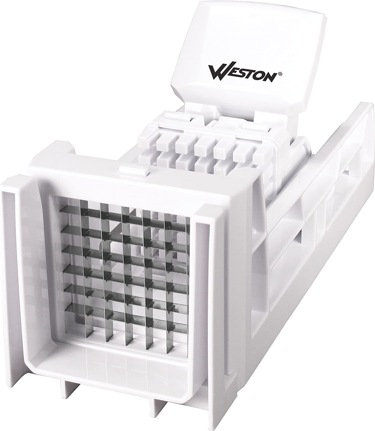 Weston French Fry Cutter and Veggie Dicer, White