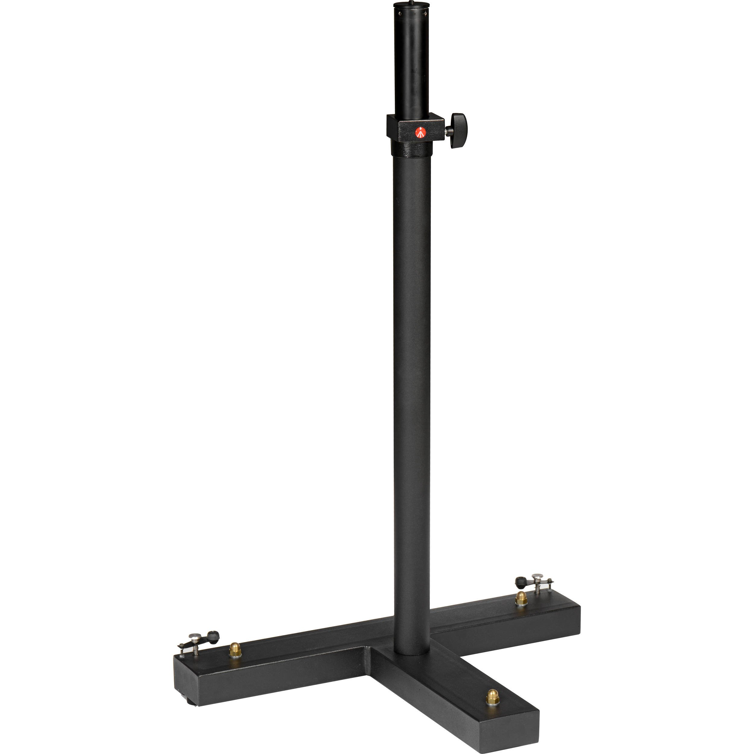 Manfrotto 800 Mini Static Camera Stand with Pneumatically Dampened Column (Black)