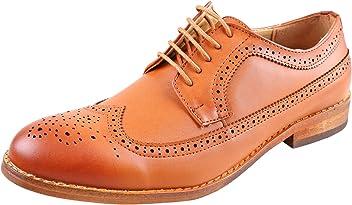 140b6c685 Urban Fox Everette Men's Dress Shoe | Brogue | Round Toe | Oxford Shoes |  Slip