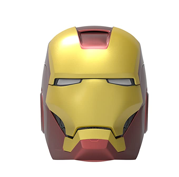 2 opinioni per Ekids Vi-B72IM Altoparlante Bluetooth Wireless a forma di Casco di Iron Man