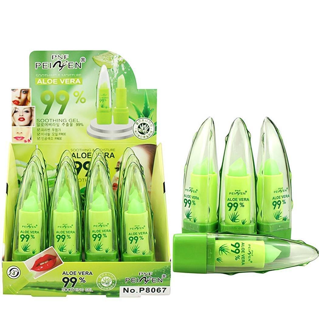 Xixou Bulges Natural Aloe Color Temperature Change Lip Long Lasting Moisturizer Lipsticks Lipstick Active Vests Lip Balm