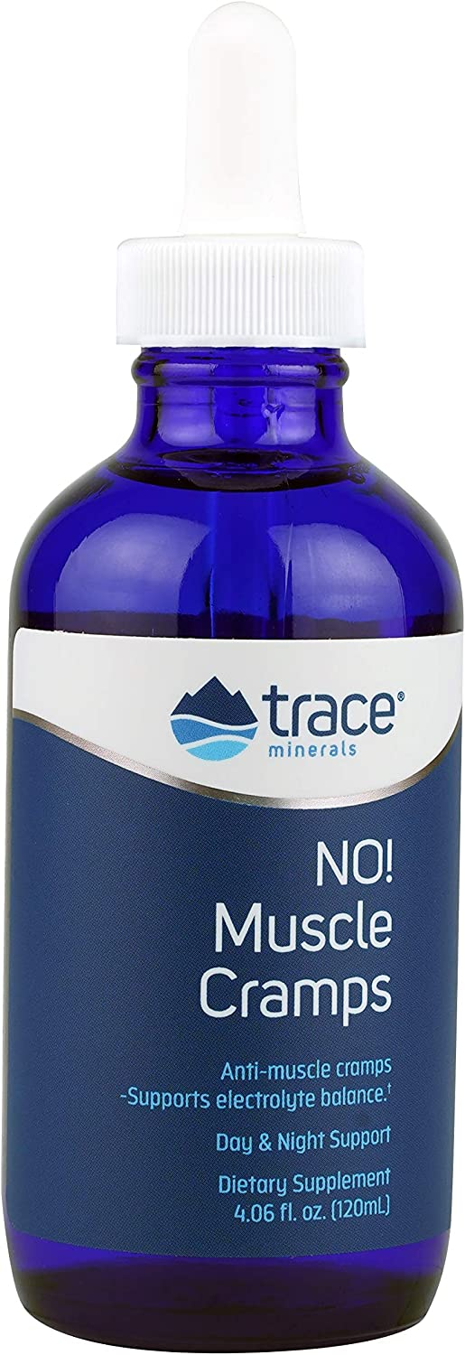 Trace Minerals Liquid No! Muscle Cramps Supplement, 4.06 Ounce: Health & Personal Care