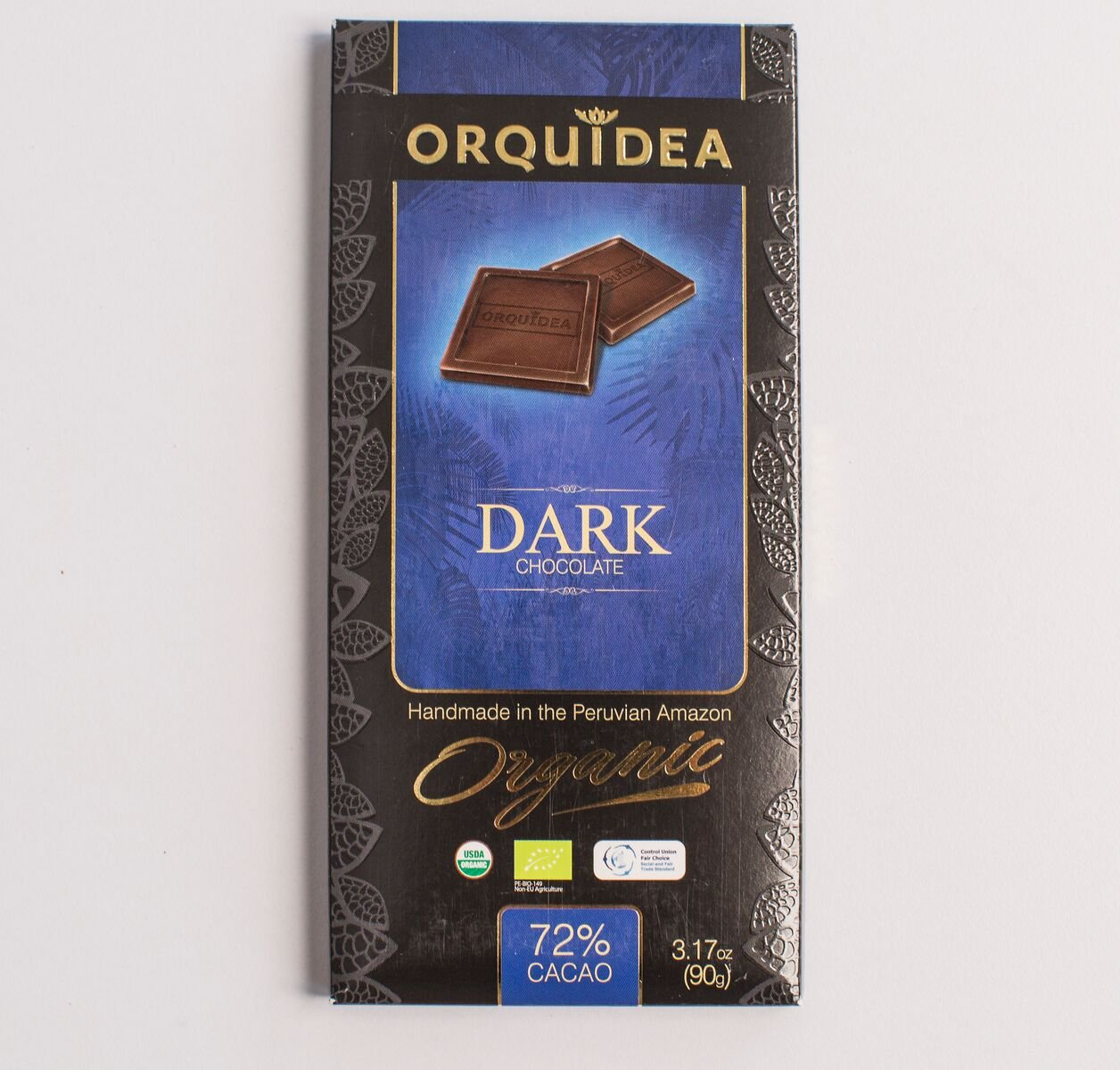 f22aff0a4b2977 Amazon.com   Delightfully Dark Chocolate Peruvian Chocolate by Orquidea    Grocery   Gourmet Food