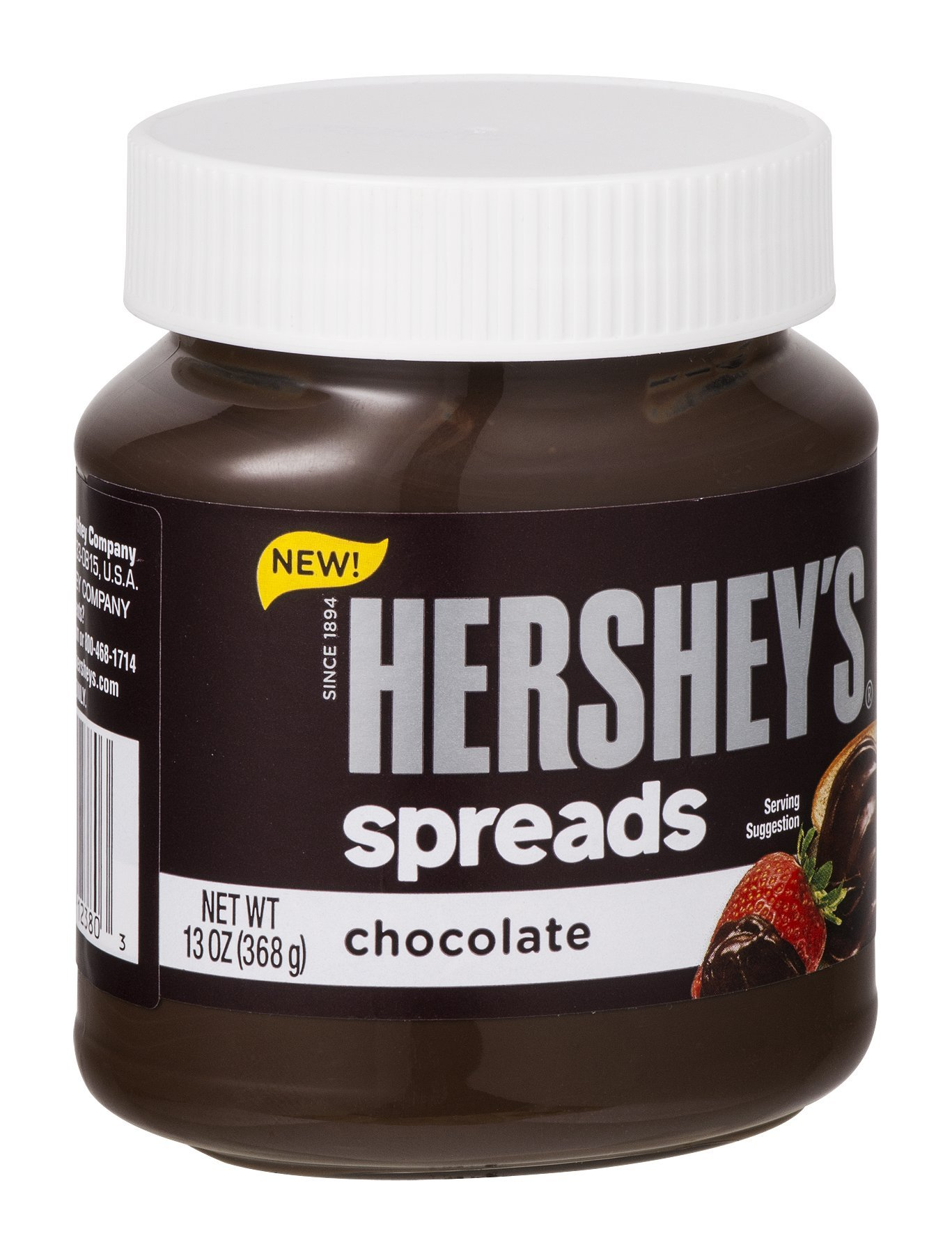 Hershey's Spreads Chocolate 13 OZ (Pack of 24) by HERSHEY'S