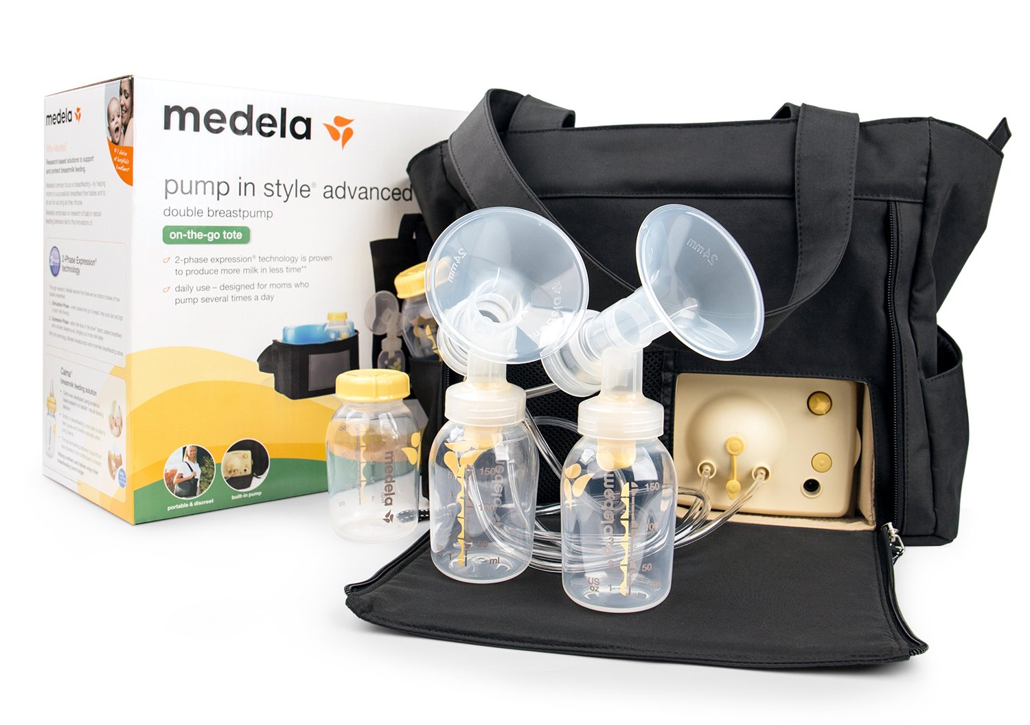 New Pump in Style Advanced Double Breastpump (Handbag)